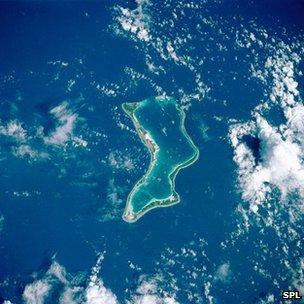 Diego Garcia atoll