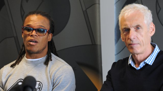 Edgar Davids and Paul Fairclough