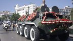 Funeral procession for Algeria's former President Chadli Bendjedid - Monday 8 October 2012