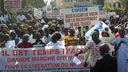 Protesters calling for armed intervention in northern Mali - Thursday 8 October