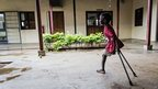 Seven-year-old Deng at the Rehabilitation Centre of Juba in South Sudan - Wednesday 10 October 2012