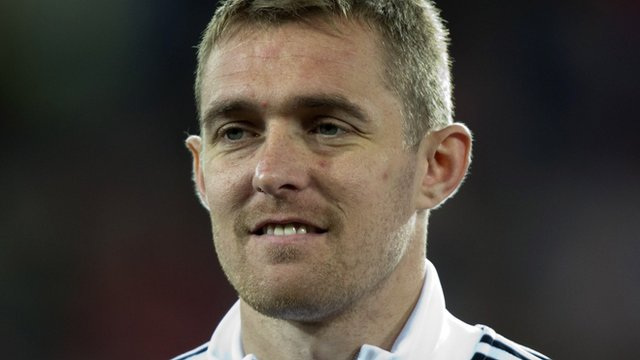 Scotland captain Darren Fletcher