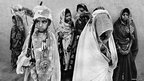 Swapan Parekh took this picture of Prem Kuwar, a seven-year-old year old bride, with her husband, Kamal Singh, also seven, on her wedding day in her village in Madhya Pradesh state.