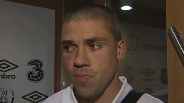 Republic of Ireland striker Jonathan Walters