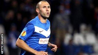 Genk midfielder Thomas Buffel