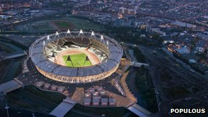 The Olympic Stadium by Populous (c) Populous