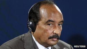 Mauritanian President Mohamed Ould Abdelaziz. Photo: October 2012