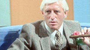Jimmy Savile in 1980