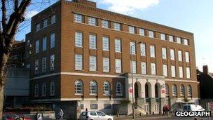 David Keir building