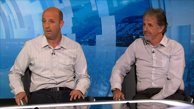 Gary McAllister and Mark Lawrenson
