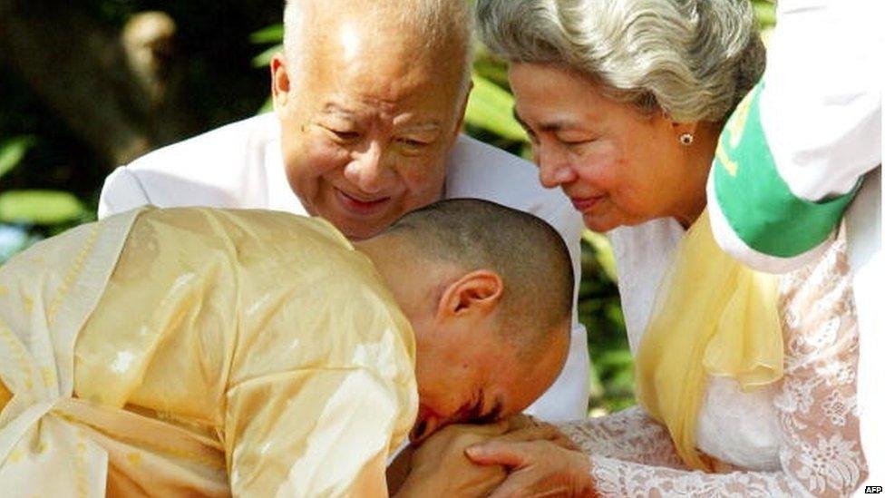 Norodom Sihanouk health