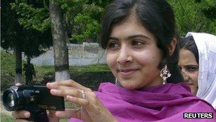 Malala Yousafzai (file image)