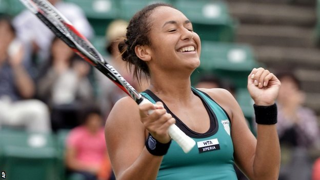Heather Watson, who trained and grew up at IMG Academy, became the first British woman to win a title in 24 years