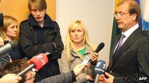 Lithuania's Labour leader Viktor Uspaskich