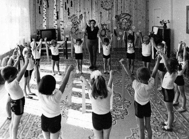 Siauciunas Family Archive, Lithuanian Kindergarten, 1987
