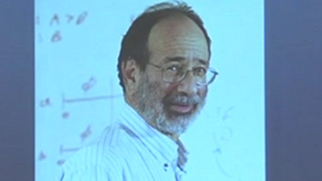 Alvin Roth, professor of economics at Harvard