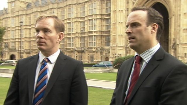 Chris Bryant and Dominic Raab