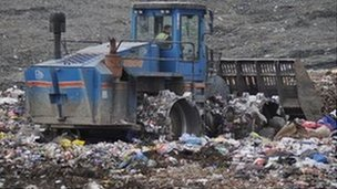 The tender for the treatment of waste has been scrapped at a cost to the taxpayer of £3m