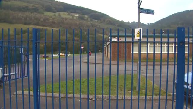 Cwmcarn High School near Risca