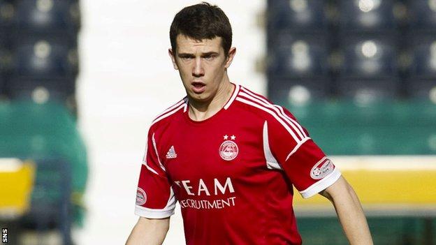 Aberdeen defender Ryan Jack