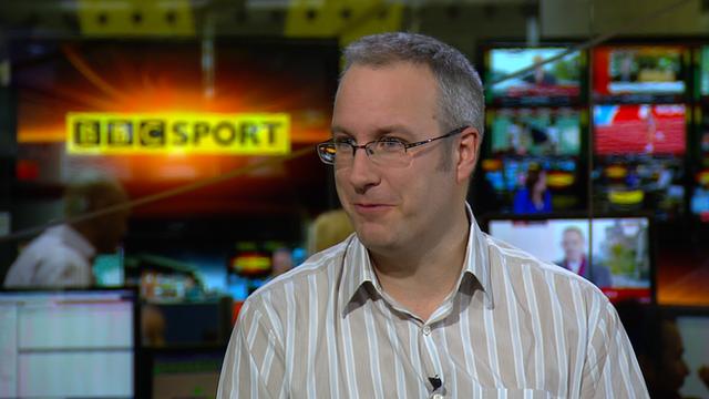 BBC Tennis Correspondent Jonathan Overend