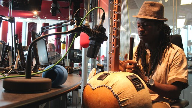 Jally Kebba Susso                         Photo: Manuel Toledo, BBC Africa