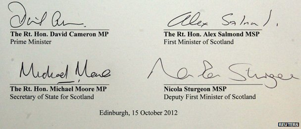 Referendum deal signatures