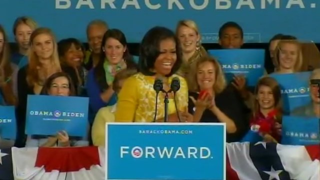 Michelle Obama in Ohio