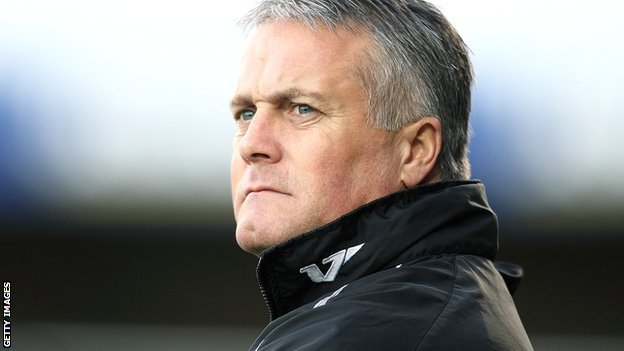 Port Vale boss Micky Adams