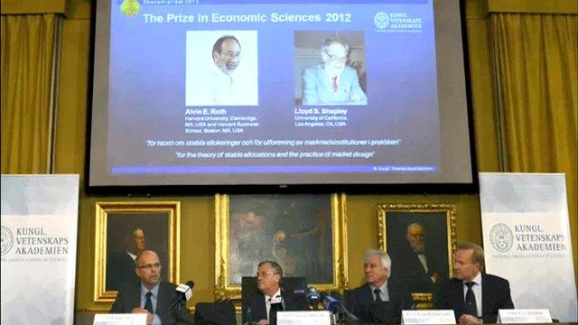 Nobel ceremony