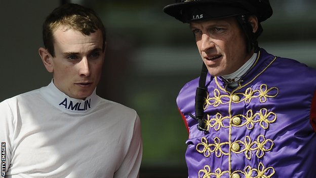 Ryan Moore and Richard Hughes