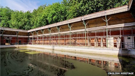 King's Meadow Baths, Reading