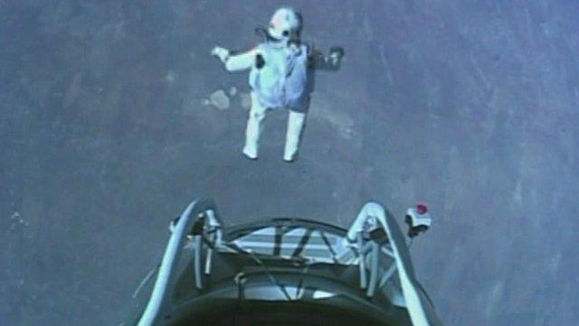 Felix Baumgartner's jump
