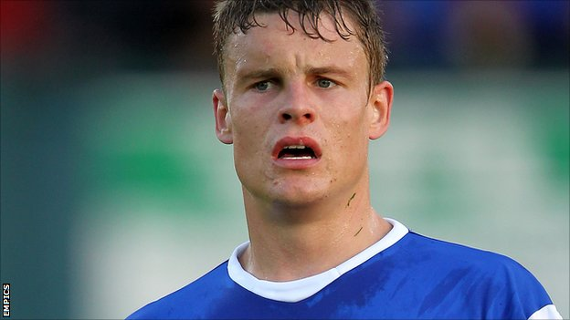 Oldham Athletic striker Matt Smith