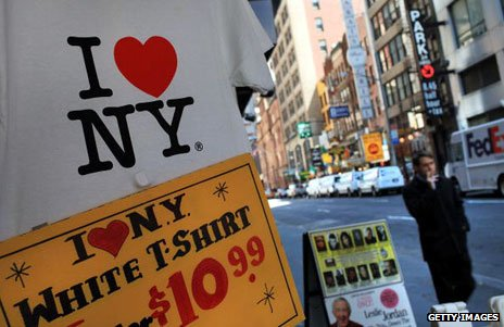 I Heart New York T-shirts on sale