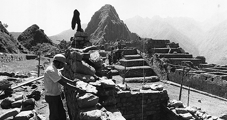 Machu Picchu undergoing reconstruction