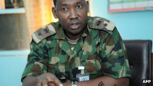 Lt Col Sagir Musa photographed in May 2012