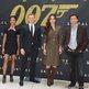 Actors Naomie Harris, Daniel Craig, Bernice Marlohe and Javier Bardem attend Skyfall cast photo call at Crosby Street Hotel in New York City