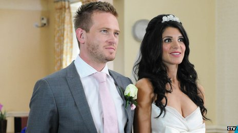 Matthew Wolfenden and Natalie Anderson