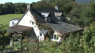 Trisha Breckman and Eddie Roberts' house in Carmarthenshire