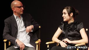 Steven Soderbergh and Sasha Grey