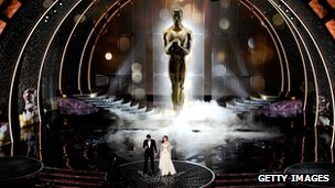 Academy Awards stage