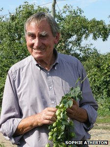 Hop farmer Tony Redsell