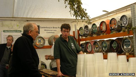 Kent Green Hop Beer Fortnight