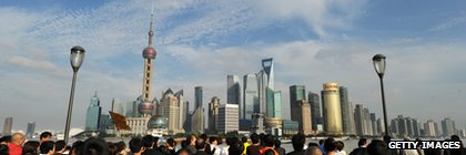 Shanghai Pudong skyline