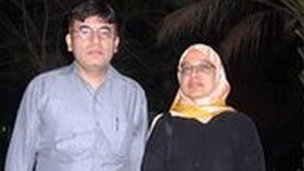 Dr Shakoor and his wife Sabah Usmani
