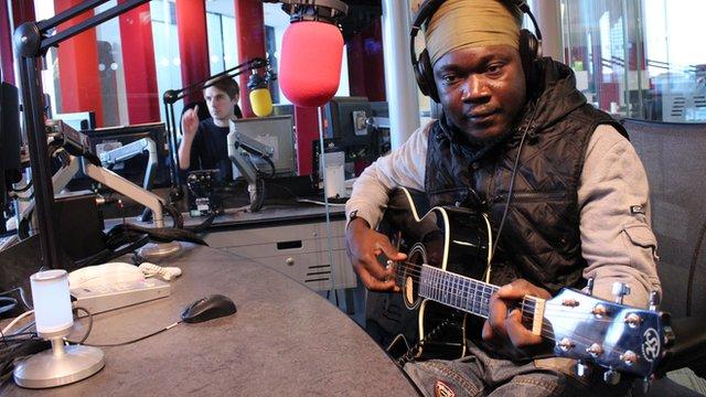 Mulele Matondo Afrika    Photo: Manuel Toledo, BBC Africa
