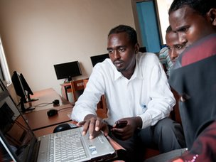 Computer Science students at Benadir University