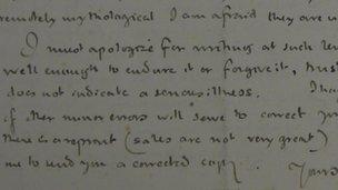 Tolkien letter