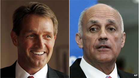 Jeff Flake and Richard Carmona
